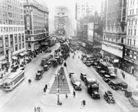 Times Square in New York, 1928 Timeline Classics/Timeline Images
