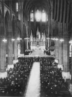 Totenmesse für Albert von Belgien in St. Patricks Cathedral in New York, 1934 Timeline Classics/Timeline Images