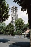 Tour Saint-Jacques in Paris, 1959 HRath/Timeline Images