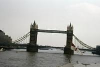 Tower Bridge in London, 1976 Lanninger/Timeline Images