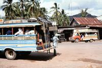 Tuck-Tuck-Taxis in Krabi, 1978 Czychowski/Timeline Images