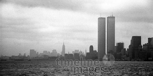 Twin Towers in Manhattan, 1973 Jürgen Wagner/Timeline Images