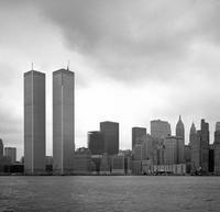 Twin Towers in New York, 1973 Juergen/Timeline Images