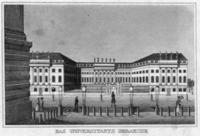 Universität in Berlin, ca. 1830 Timeline Classics/Timeline Images