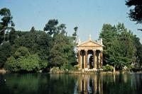 Villa Borghese in Rom, 1973 Czychowski/Timeline Images