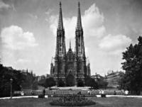 Votivkirche in Wien, 1928 Timeline Classics/Timeline Images