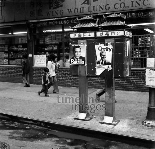 Wahlkampf in New York, 1973 Juergen/Timeline Images