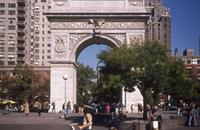 Washington Square Arch in New York, 1978 Juergen/Timeline Images