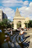 Washington Square in New York, 1992 Raigro/Timeline Images