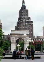 Washington Square Park in New York, 1973 Juergen/Timeline Images