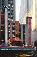 Weihnachtliche Radio City Music Hall in New York, 1992 Raigro/Timeline Images