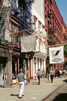 West Broadway in New York, 1992 Raigro/Timeline Images