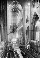 Westminster Abbey in London, 1925 Timeline Classics/Timeline Images