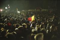 Wiedervereinigung am 3.10.1990 Winter/Timeline Images