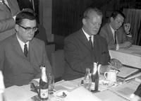 Willy Brandt auf dem SPD-Landesparteitag in Berlin, 1967 Juergen/Timeline Images