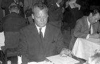 Willy Brandt in Berlin, 1967 Juergen/Timeline Images