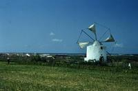 Windmühle in Portugal, 1980er hwh089/Timeline Images