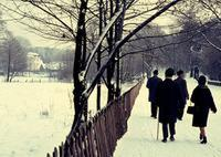 Winter am Grunewaldsee in Berlin, 1964 Juergen/Timeline Images
