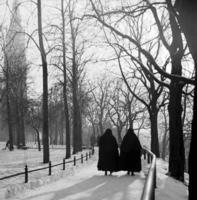 Winter am Neudeck in München, 1952 Schindler/Timeline Images