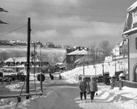 Winter in Schmiedefeld am Rennsteig, 1961 Juergen/Timeline Images
