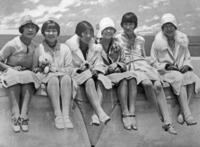 Wohlhabende Frauen in China, 1927 Timeline Classics/Timeline Images
