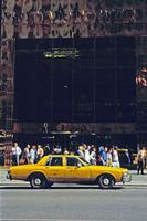 Yellow Cab vor dem Trump Tower, 1992 Raigro/Timeline Images