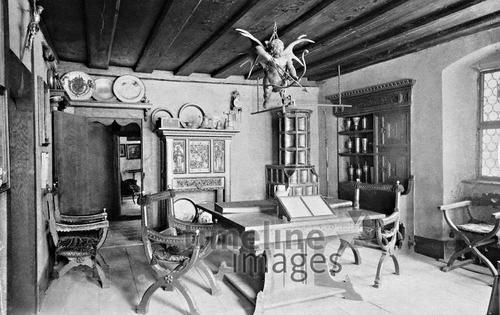 Zimmer im Albrecht Dürer Haus in Nürnberg, 1934 – Fotocommunity ...