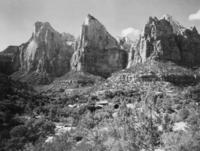 Zion-Canyon im Zion Nationalpark in Utah, ca. 1900 Timeline Classics/Timeline Images