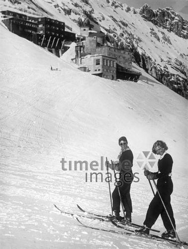 Zugspitze, 1933 Timeline Classics/Timeline Images