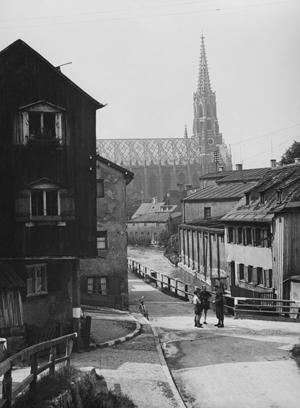 Wohnsiedlung in München-Au, 1943